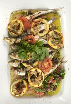 Simple and delicious -- Grilled Sardines, Portuguese-style