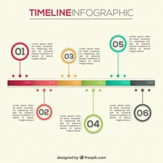 Template Infogrfico Timeline  Timeline Infographic And Timeline