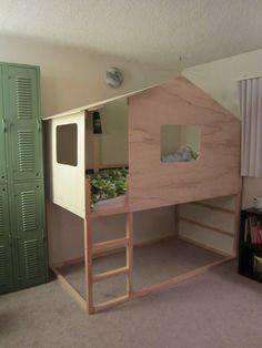 Mommo design ikea hacks kura house kids furniture and - Ikea chambre d enfants ...