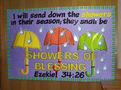 """Showers of Blessings"" Ezekiel 34:26"