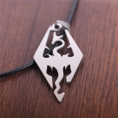 The Elder Scrolls Dragon Pendant