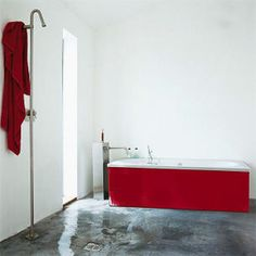 Wet room | Minimalist wet room| Room Envy