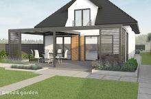 Outdoor Gardens, Garden Design, Patio, Mansions, House Styles, Outdoor Decor, Garden Ideas, Tile, Gardening
