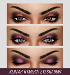 Kenzar Sims: Nymeria eyeshadow • Sims 4 Downloads