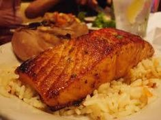 Adapted from a Longhorn Steakhouse recipe salmon 2 tablespoons Bourbon 2 tablespoons soy sauce 2 tablespoons brown sugar 2 tablespoons lime juice 1 teaspoon minced garlic Mix all ingredients together. Pour over salmon, seal is plastic bag or dish and refrigerate and let chill for 2 hours.