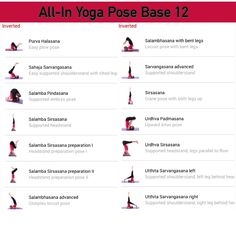 All-in Yoga pose base page 12