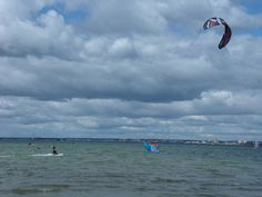 "#pluckypenguin ""Excellent windsurfing and kitesurfing, for all abilities In Poole Harbour, Dorset"""