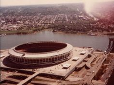 Riverfront Stadium: Former home of the Cincinnati Bengals & Reds