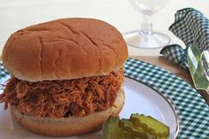 Recipe for Slow Cooker Barbecue Pulled Chicken