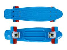 "Zycle Fix Mayhem 22"" Penny Style Skateboard(Blue/Red)"