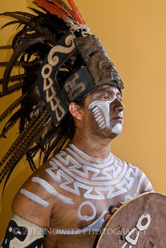 Portrait of Mayan Warrior Mexico