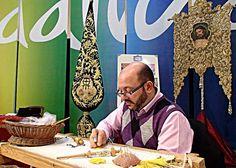 Bordado en oro (Bordados Juan Rosen, Málaga) / Gold Embroidery (Bordados Juan Rosen, Málaga)