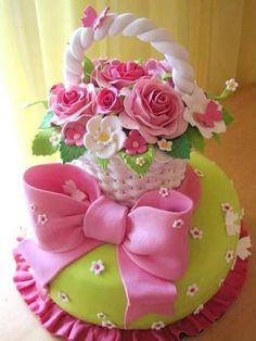 cupcake cesta flores - Pesquisa do Google