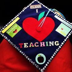 Elementary education major graduation cap