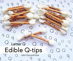 edible qtips perfect for April Fools Day
