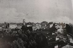 Vista panoramica del paese - 1910.