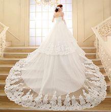 Vestidos De Novia 2015 Chiffon Lace Ball Gown Wedding Dress Vintage Boho Wedding Dress Robe De Mariage Bridal Gown Casamento