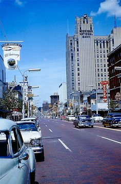 Flint, Michigan, 1957.  I was born in Brookly, NY in 1957, but grew up in Flint from the time I was 1 1/2 years old.