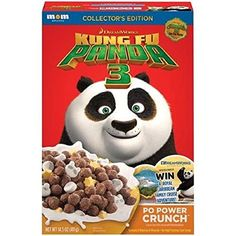 MOM Brands, Dreamworks Kung Fu Panda 3 Cereal, 14.5oz Box (Pack of 4) by Kung Fu Panda 3 -- Awesome products selected by Anna Churchill
