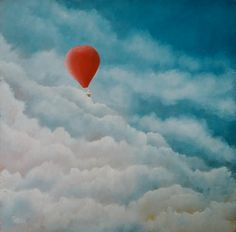 Out of the Clouds by Petar Novakovic www.petarart.co.uk Clouds, Artist, Painting, Outdoor, Outdoors, Painting Art, Paintings, Painted Canvas, Outdoor Living