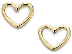 Marc by Marc Jacobs Heart-Shaped Earrings on shopstyle.com