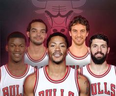 feb9f5063e5d Pau Gasol with other Chicago Bulls  Butler