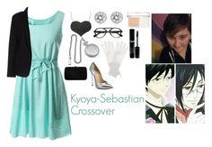"""Kyoya-Sebastian Crossover"" by charbear231 ❤ liked on Polyvore featuring Amorium, Michael Kors, Casadei, Maesta, Christian Dior, Cathy's Concepts, Jardin des Orangers, Sergio Rossi, women's clothing and women"