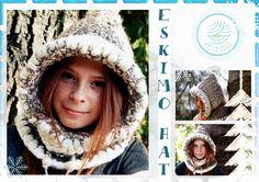 ESKIMO crochet hat :)