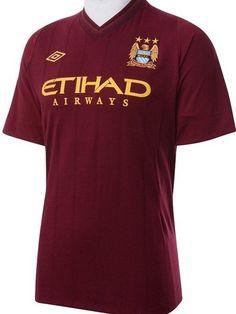 Mancester City Away Shirt 2012-13 Umbro