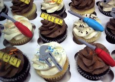 Tool Cupcakes...im so doing this!!!