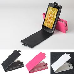 Up-down PU Flip Protective Case For FLY IQ446