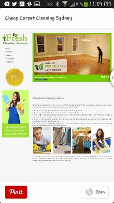 Carpet cleaning services / End of lease cleaning