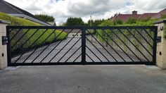 we supply and install steel and timber gates and automation and fencing Timber Gates, Fence, Outdoor Decor, Home Decor, Wood Gates, Decoration Home, Room Decor, Wooden Gates, Home Interior Design