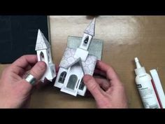 how to build a bell tower  Tim Holtz Sizzix Village Bell Tower - YouTube