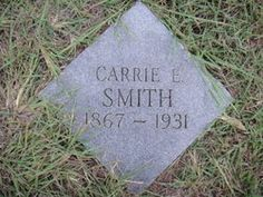 Carrie Elizabeth Hughes Smith My Great Grandmother
