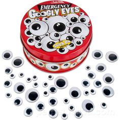 Emergency GoOgly Eyes ~ These would be a fun tin to have handy while journaling! ~ ♥