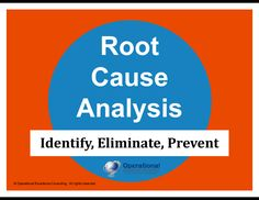 Root Cause Analysis (RCA) is a popular and often-used technique that helps people answer the question of why the problem occurred in the first place. 5 Whys, 6 Sigma, Simple Powerpoint Templates, Operational Excellence, Sell Your Business, Lean Six Sigma, Process Improvement, Corporate Communication, Learning Objectives