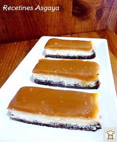 RECETINES ASGAYA: Tarta de Queso y Caramelo