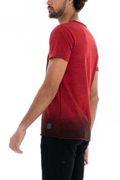T-shirt 1st level com estampado | 118346 VERMELHO FORTE | Salsa