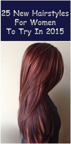 25 New Hairstyles for women to try in 2015--The last month you can choose your hairstyle!--Learn more popular #Hairstyle in Pinterest with #Besthairbuy25 New Hairstyles for women to try in 2015--The last month you can choose your hairstyle!--Learn more popular #Hairstyle in Pinterest with #Besthairbuy