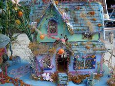 Fairy Moss Cottage Dollhouse