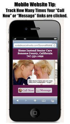 How to track mobile website call and message clicks  http://scalablesocialmedia.com/2013/03/mobile-website-tracking-cheats/#