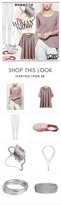 """""""Yonis 10 (1)"""" by alejla ❤ liked on Polyvore featuring Vans, Woman Within, Rebecca Minkoff, Worthington, Blue Nile and yoins"""