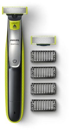Philips OneBlade QP2530/30, Trimmen, Stylen, Rasieren / 4Trimmeraufsätze, 1 Ersatzklinge