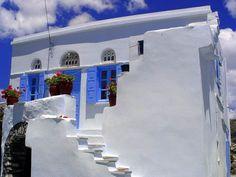 Τήνος ~ Tinos, Cyclades Pure White Blue by Elsa T. Tinos Greece, Mykonos Greece, Santorini, Greece Photography, Go Greek, Archaeological Site, Greek Islands, Countries Of The World, Dream Vacations