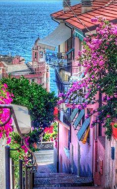 Colorful Tellaro, Italy  photo: Marco Ponti