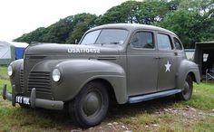 1940 Plymouth Staff Car