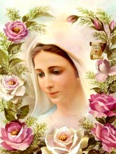 My Lady Beautiful Mother Of Christ, Blessed Mother Mary, Blessed Virgin Mary, Pictures Of Jesus Christ, Religious Pictures, Religious Icons, Mother Mary Pictures, Mary And Jesus, Mary I
