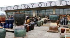 Pottery Outlet At The Barn Nursery Chattanooga Tn On