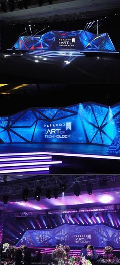 corporate stage design inspiration